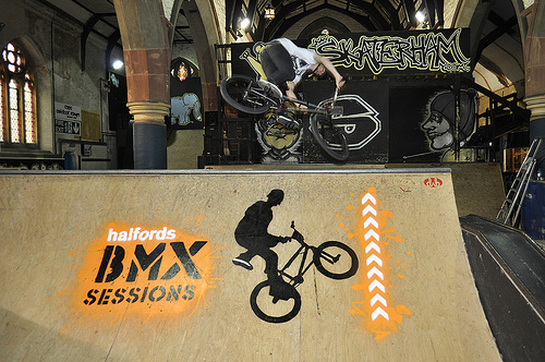 id-iom does Halfords BMX Sessions (with Tinchy Stryder)