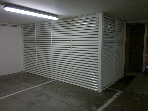 Louvred Enclosure
