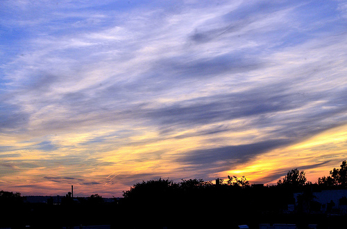 Sunset Out My Rear Window - Brooklyn
