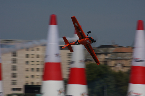 Nicolas Ivanoff at Air Race