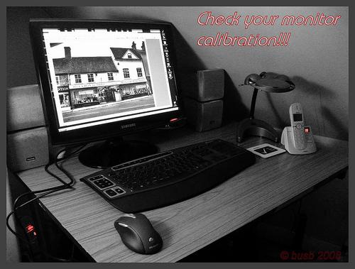 Check your monitor calibration!!!