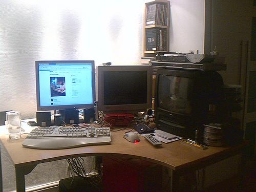 My desk 2 years on