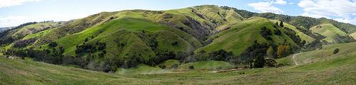 Waeranga trail ride panorama