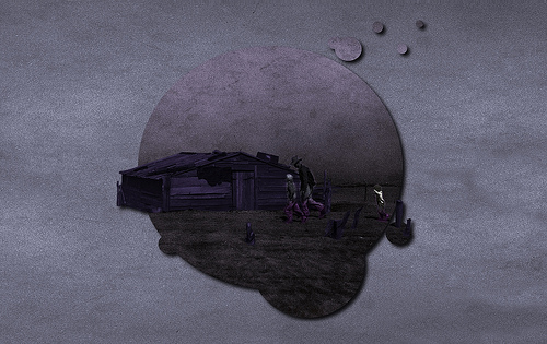 Dustbowl, The Purple Moon - Wallpaper