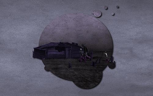 Dustbowl, The Purple Moon - Wallpaper