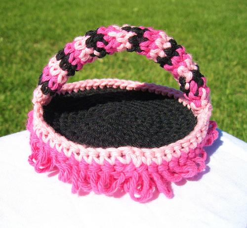 Hot Pink & Black Keyboard Duster