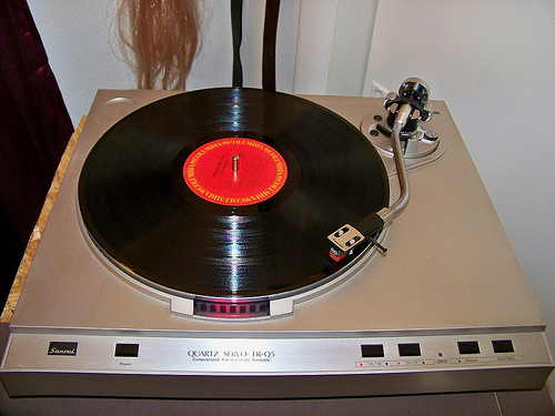 Sansui FR-Q5 Turntable