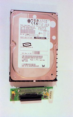 Fujitsu 73 Gb SCSI drive