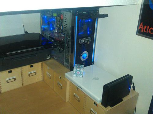 My Desk 2011 (Left)