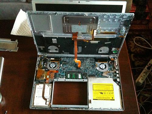 My MacBook Pro innards