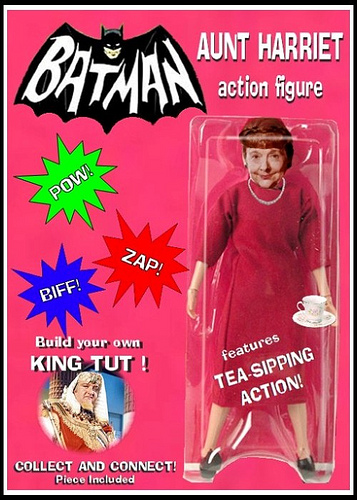 BATMAN 1966 Action Figure We Want To See Made : Aunt Harriet with