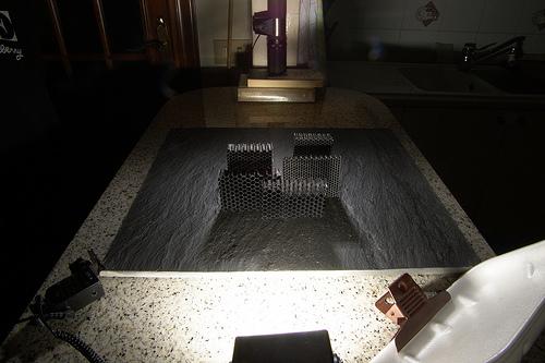 Making of Saxonpc honeycomb grids
