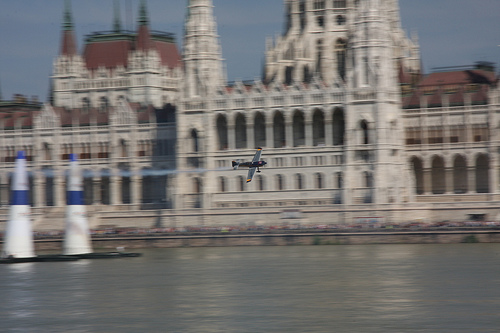 Alejandro Maclean at Air Race