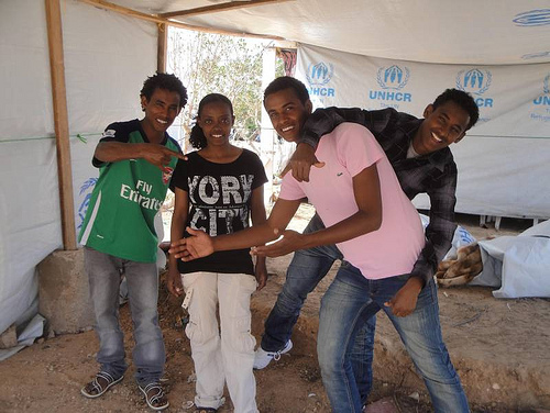 UNHCR News Story: Away Alone: Unaccompanied children find shelter after fleeing Libya