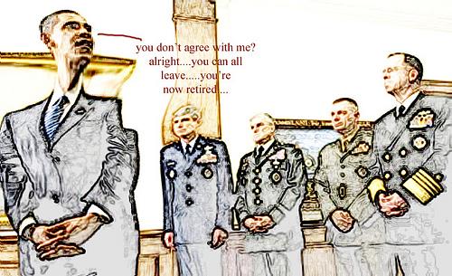 OBAMA PURGING U.S. MILITARY LEADERSHIP