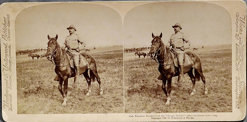 Col. Theodore Roosevelt of the