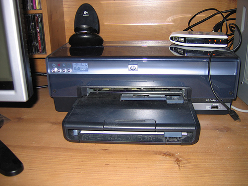 HP DeskJet 6840 Color InkJet Printer