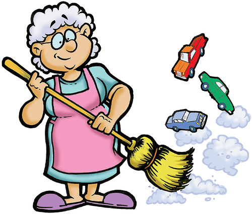 Sweeping Granny