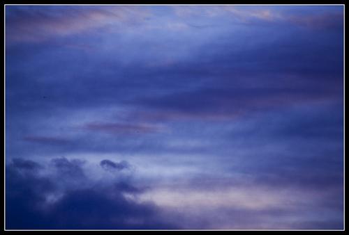 Blue dream of sky