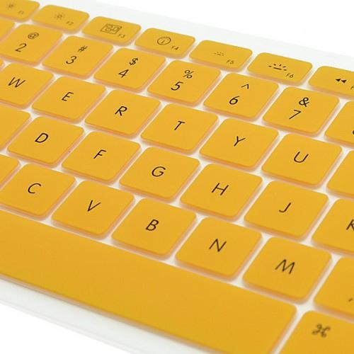 Silicon Keyboard Skin Cover for Apple Macbook / MacBook Pro / MacBook Air (Orange)
