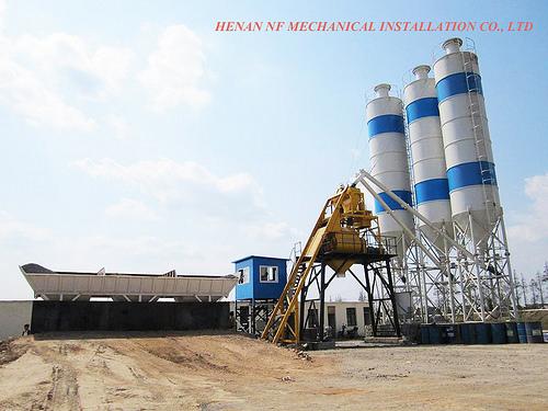 HZS25-Concrete-Batching-Plant