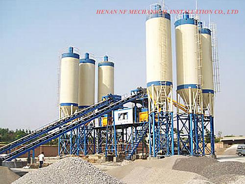 NF hzs90 concrete batching plant