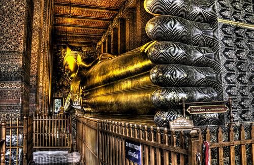 Bangkok Sleeping Buddha at Wat Pho