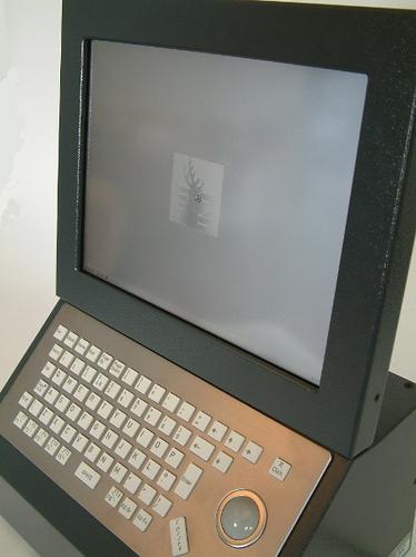 Juno II Industrial Computer with Touchscreen