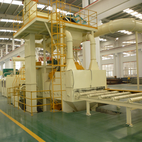 QXY Series Steel Plate Pretreatment Line
