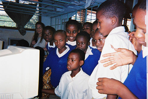 Computer Kids at Kiborloni School