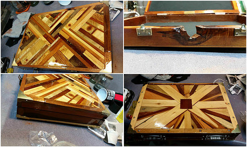 Can You Believe a Laptop Briefcase Can Be Made Out of Pallets ?