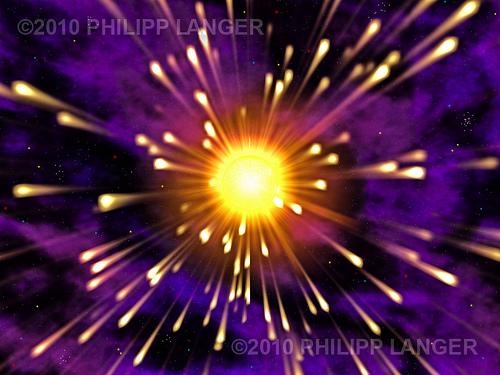 Explodierende Sonne / Exploding Sun