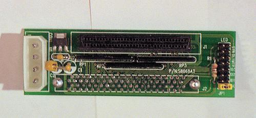 80 to 68 pin SCSI converter