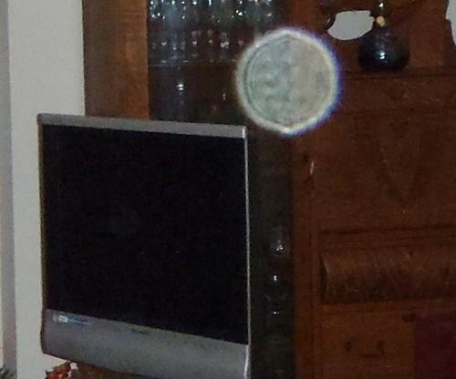 Orb near the TV again