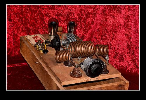 Vintage Homebrew CW  Transmitter
