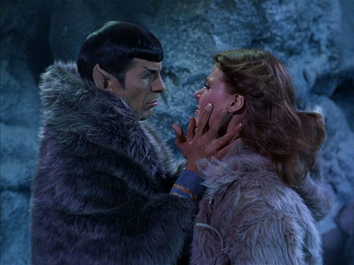 Leonard Nimoy, Mariette Hartley, Star Trek TOS,