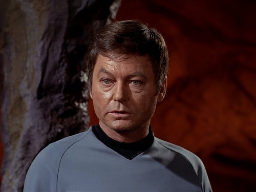 DeForest Kelley, Star Trek TOS,