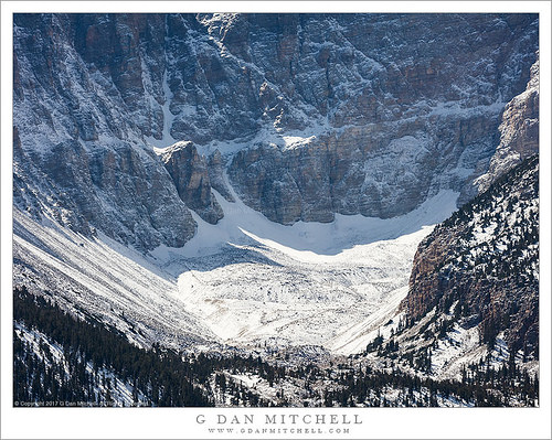 Wheeler Glacier and Cirque Headwall