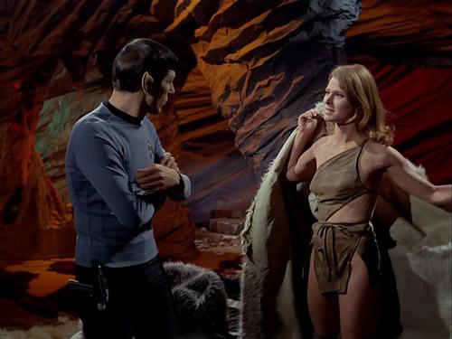 Leonard Nimoy, Mariette Hartley, Star Trek TOS,