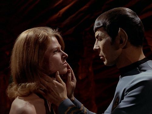 Mariette Hartley, Leonard Nimoy, Star Trek TOS,