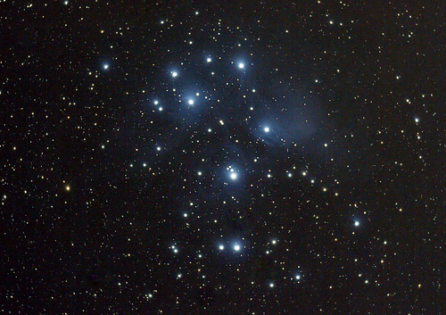 Pleaiades (Seven Sisters - M45)