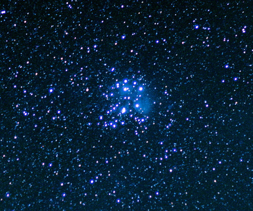 Pleiades, 50mm, No Tracking, Finger Lakes region of New York