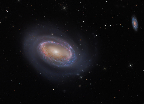 oo inc. proudly presents: One-Armed Spiral Galaxy NGC 4725