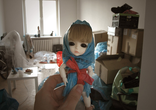 Brave Matylda aka the Little Blue Riding Hood