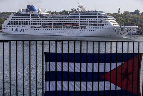 First US Carnival Cruise Arrival in Cuba