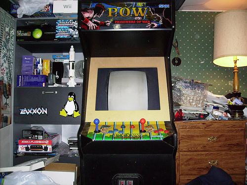 My SNK Prisoners of War arcade cab