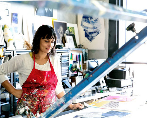 Where I Work: Kate Banazi