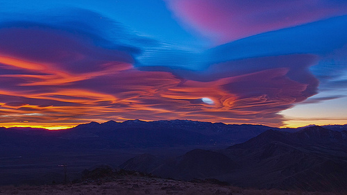 Eastern Sierra Sunrise Timelapse