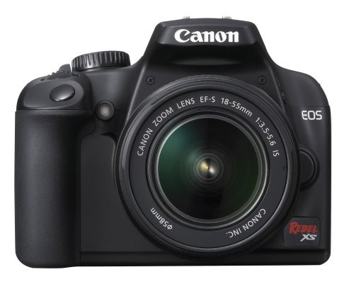 Cheap Canon Rebel XS 10.1MP Digital SLR Camera with EF-S 18-55mm f/3.5-5.6 IS Lens (Black)