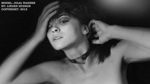 BEAUTIFUL WOMAN IN DARK MOOD - Julia Wagner